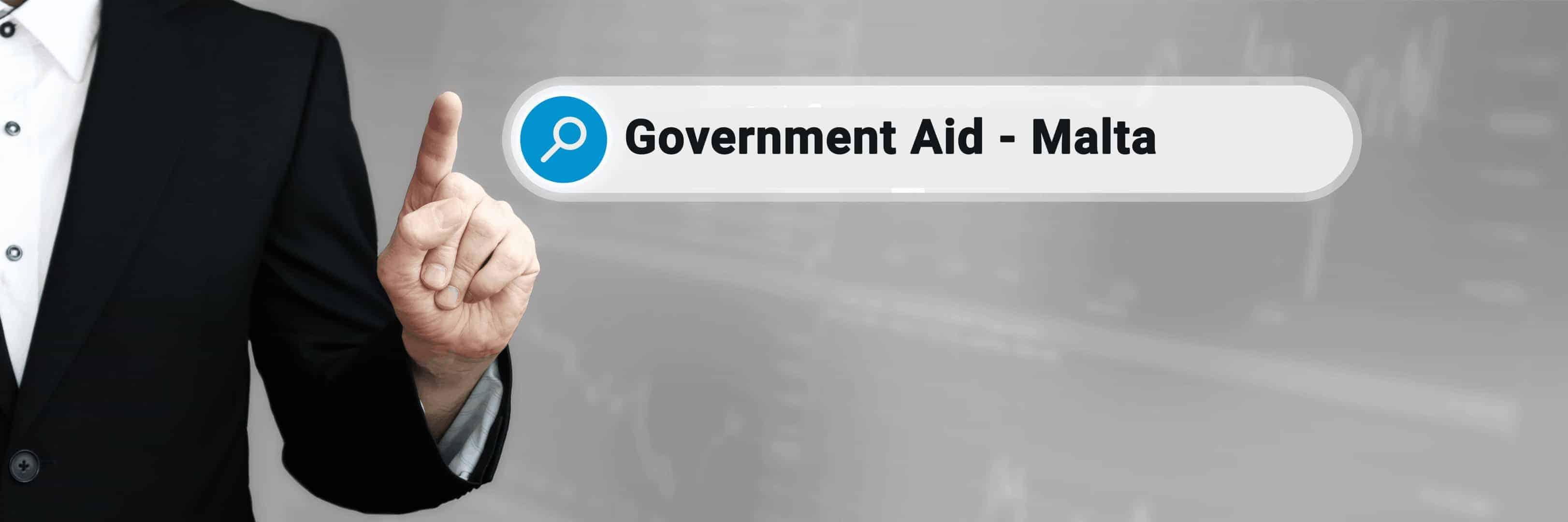 Government Aid in relation to Covid-19 - Malta