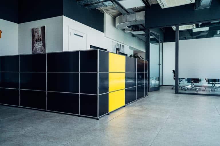 Die Räume der Kanzlei DWP - visualisiert durch die Rezeption der Kanzlei